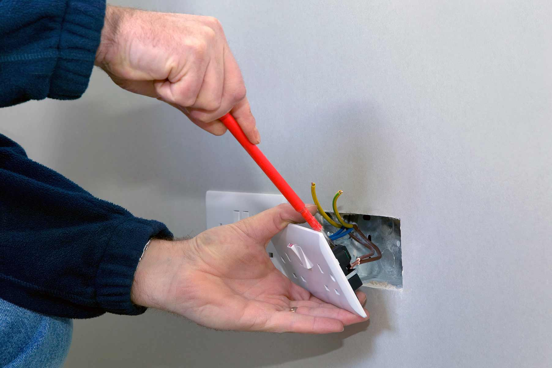 Our electricians can install plug sockets for domestic and commercial proeprties in Clayhall and the local area.